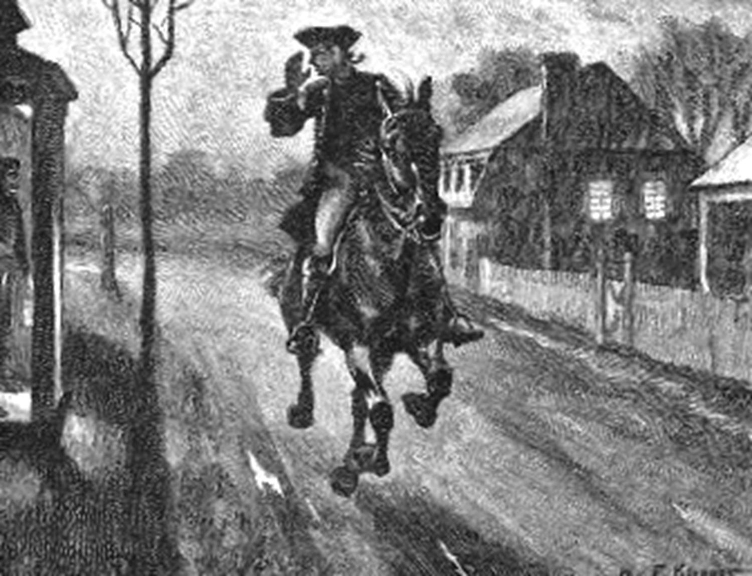 ride of paul revere timeline midnight ride of paul revere timeline